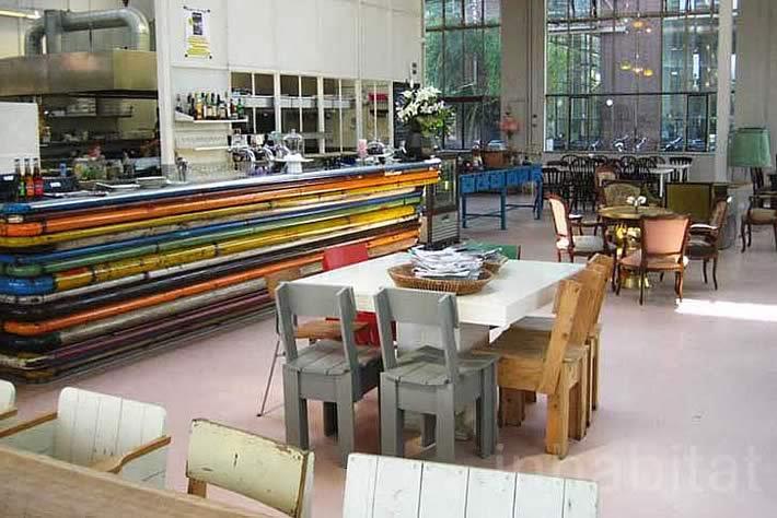 Piet Hein Eek's Restaurant in Eindhoven