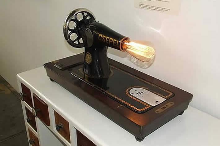 Stefan van der Bijl: Van antieke naaimachine naar geweldige tafellamp
