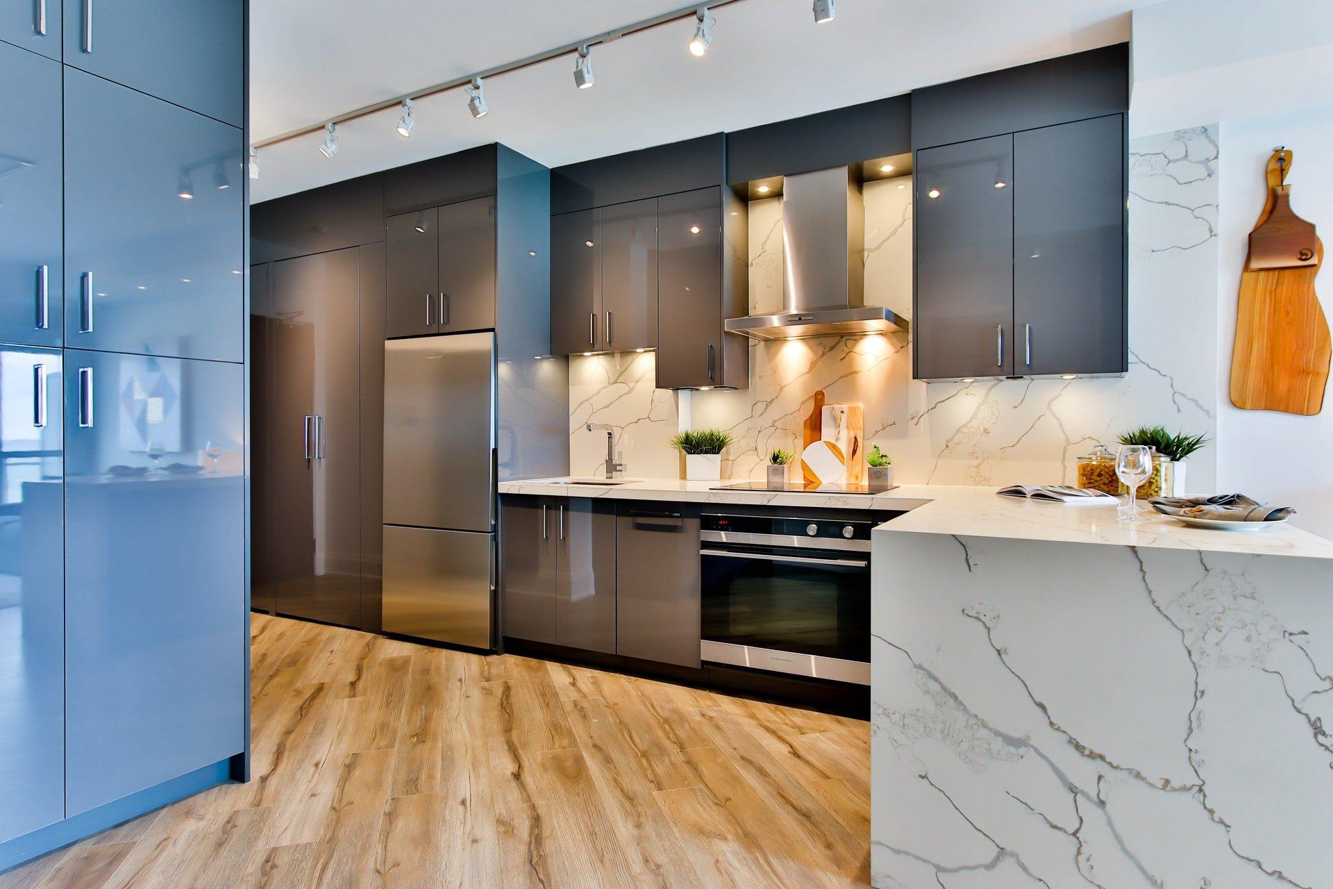 Afbeelding van een keuken