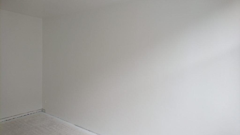 Latex muur spuiten