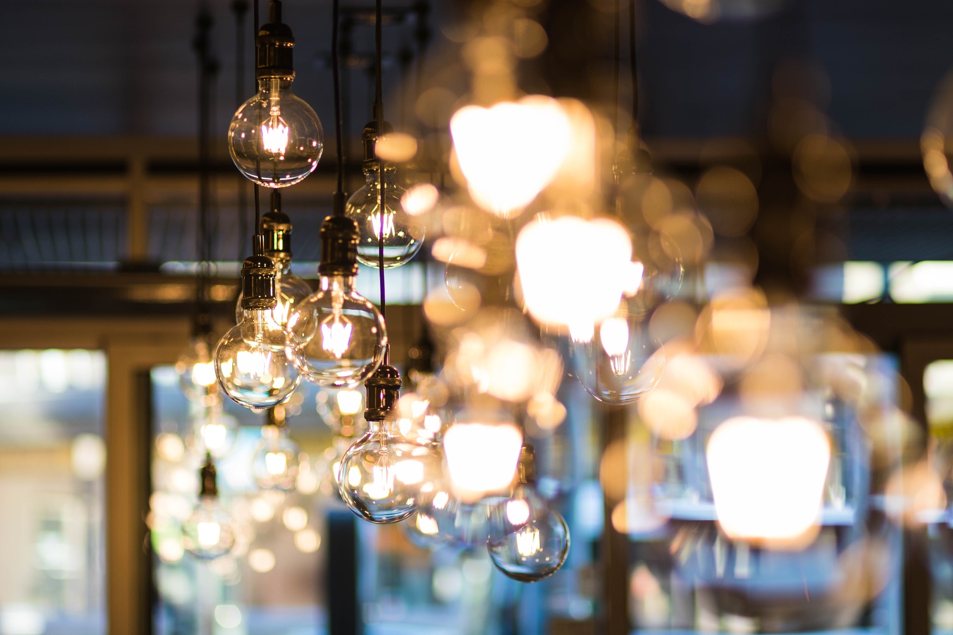 Hanglamp retro rond design